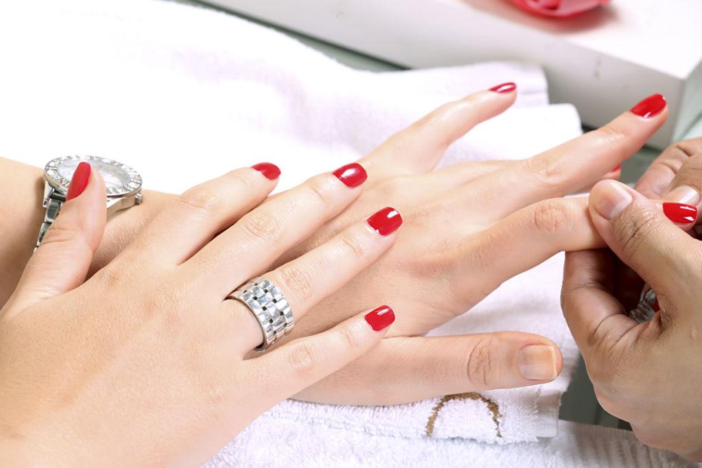 lady nail polish